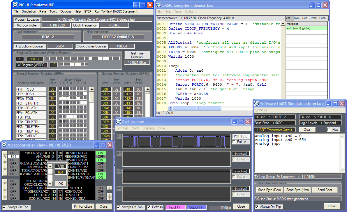 Edsim51 ide simulator software | electronics communication resources.